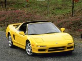 1991 Acura NSX Wallpaper Targa Yellow-Front