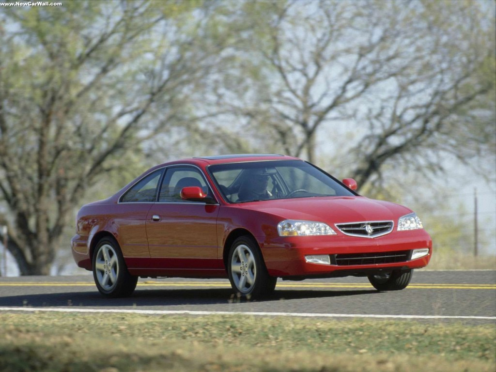 2001 Acura 3.2 CL Type-S Wallpaper - Front Angle