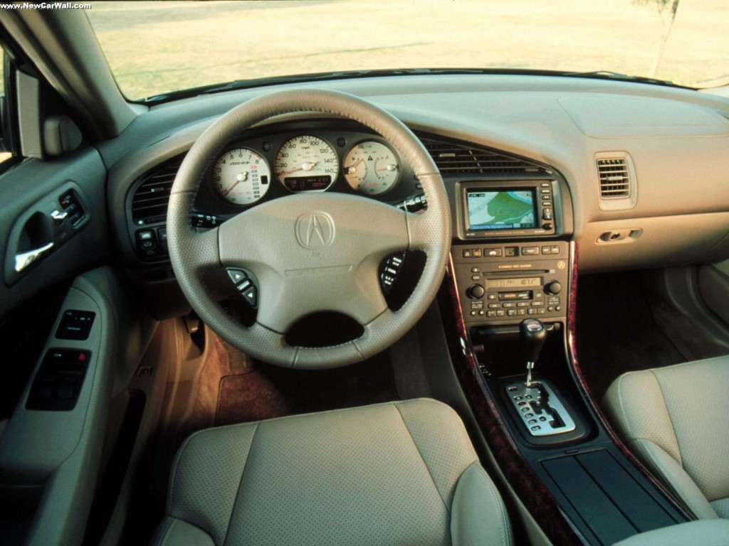 2001 Acura 3.2 CL Type-S Wallpaper - Interior