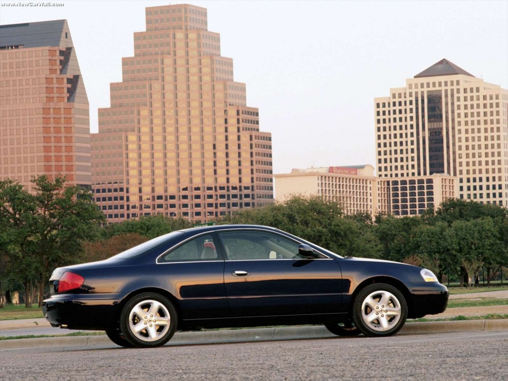2001 Acura 3.2 CL Type-S Wallpaper - Rear Angle