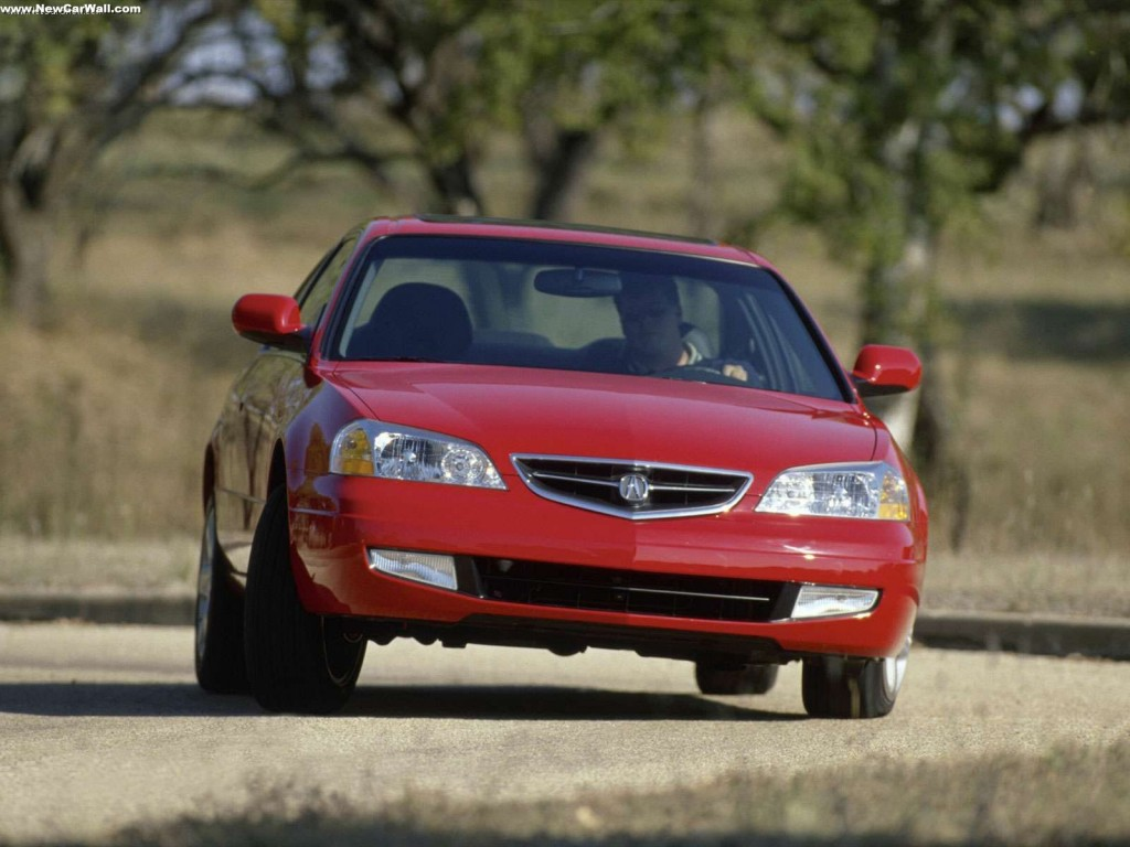 2001 Acura 3.2 CL Wallpaper - Front Angle