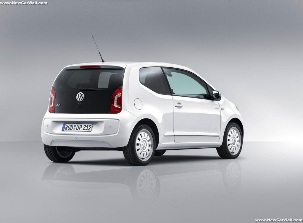 2013 VW Up Wallpaper-Rear