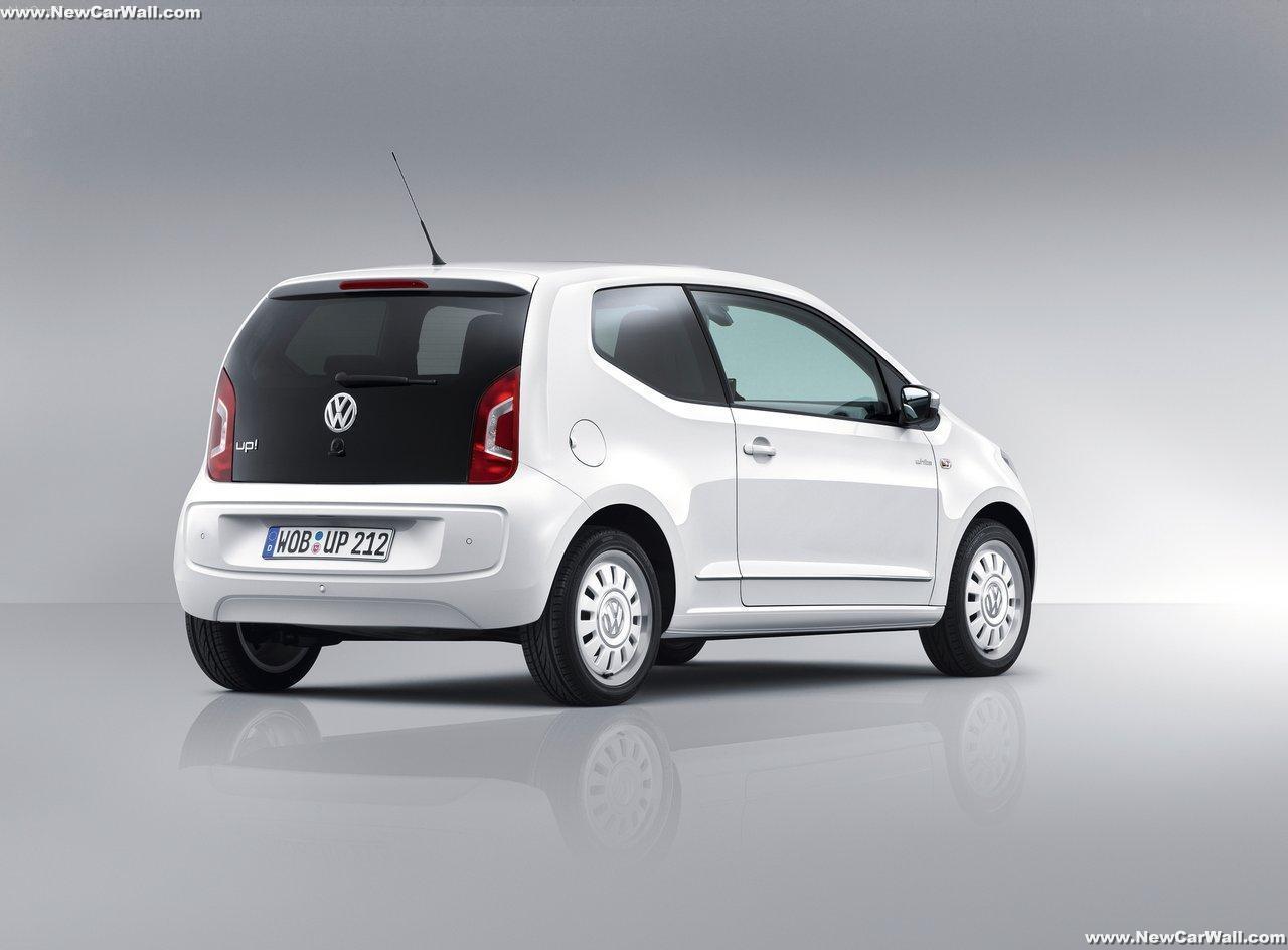 2013 VW Up Wallpaper-Rear