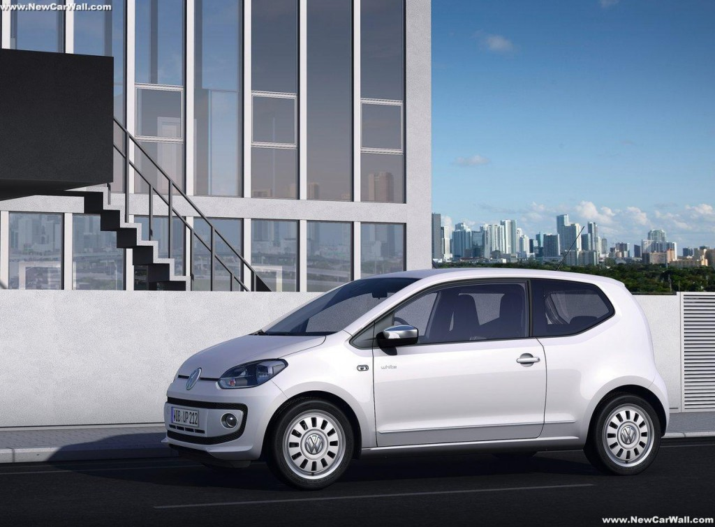 2013 Volkswagen Up Wallpaper-Exterior