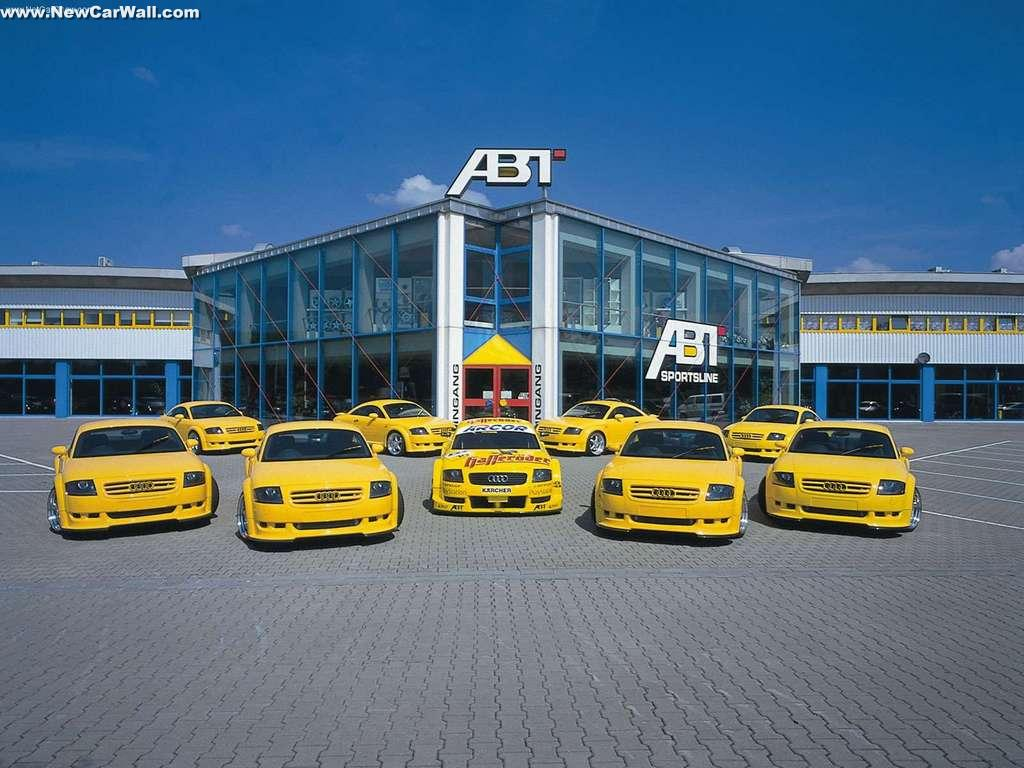 ABT Audi TT Wallpaper-Limited-Front