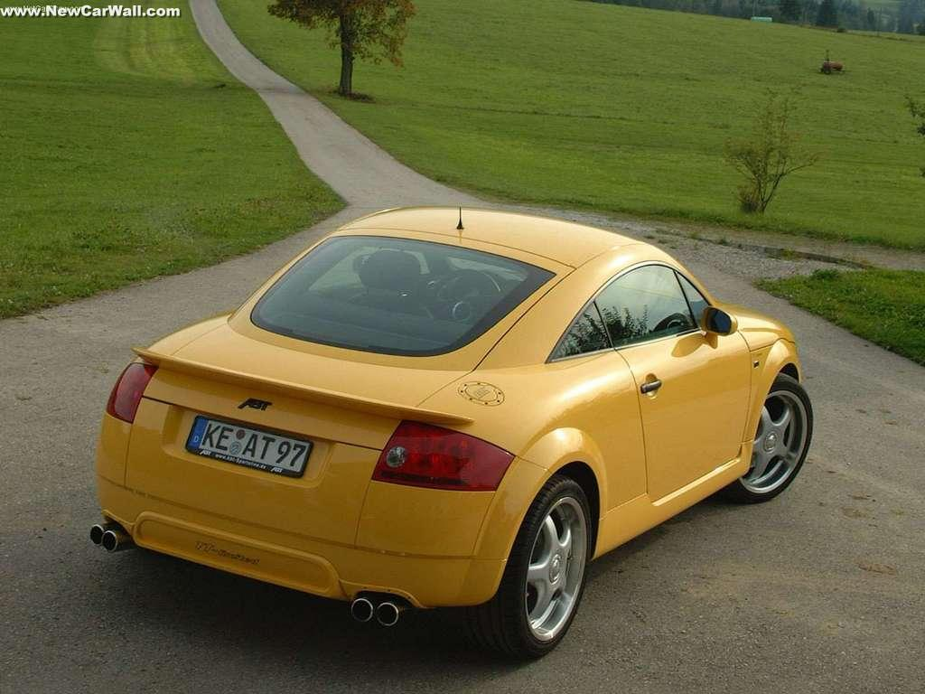 ABT Audi TT Wallpaper-Limited-Rear Angle