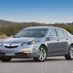 Front Angle - Acura TL 2012 Wallpaper