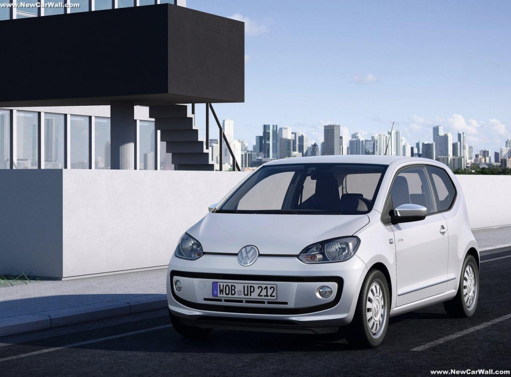 VW Up Wallpaper-Front Angle