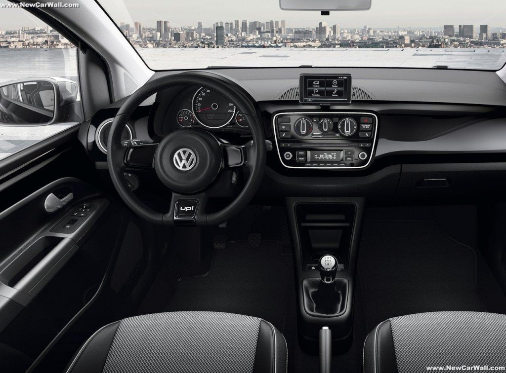 VW Up Wallpaper- Interior