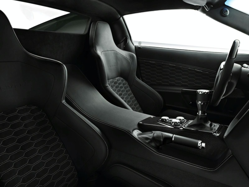 2010 Zenvo ST1-Seats