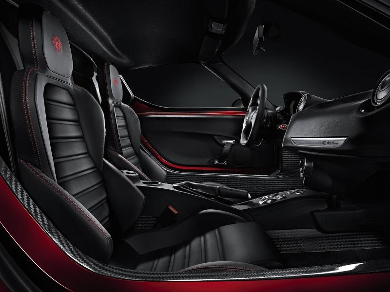 2014 Alfa Romeo 4C-Interior