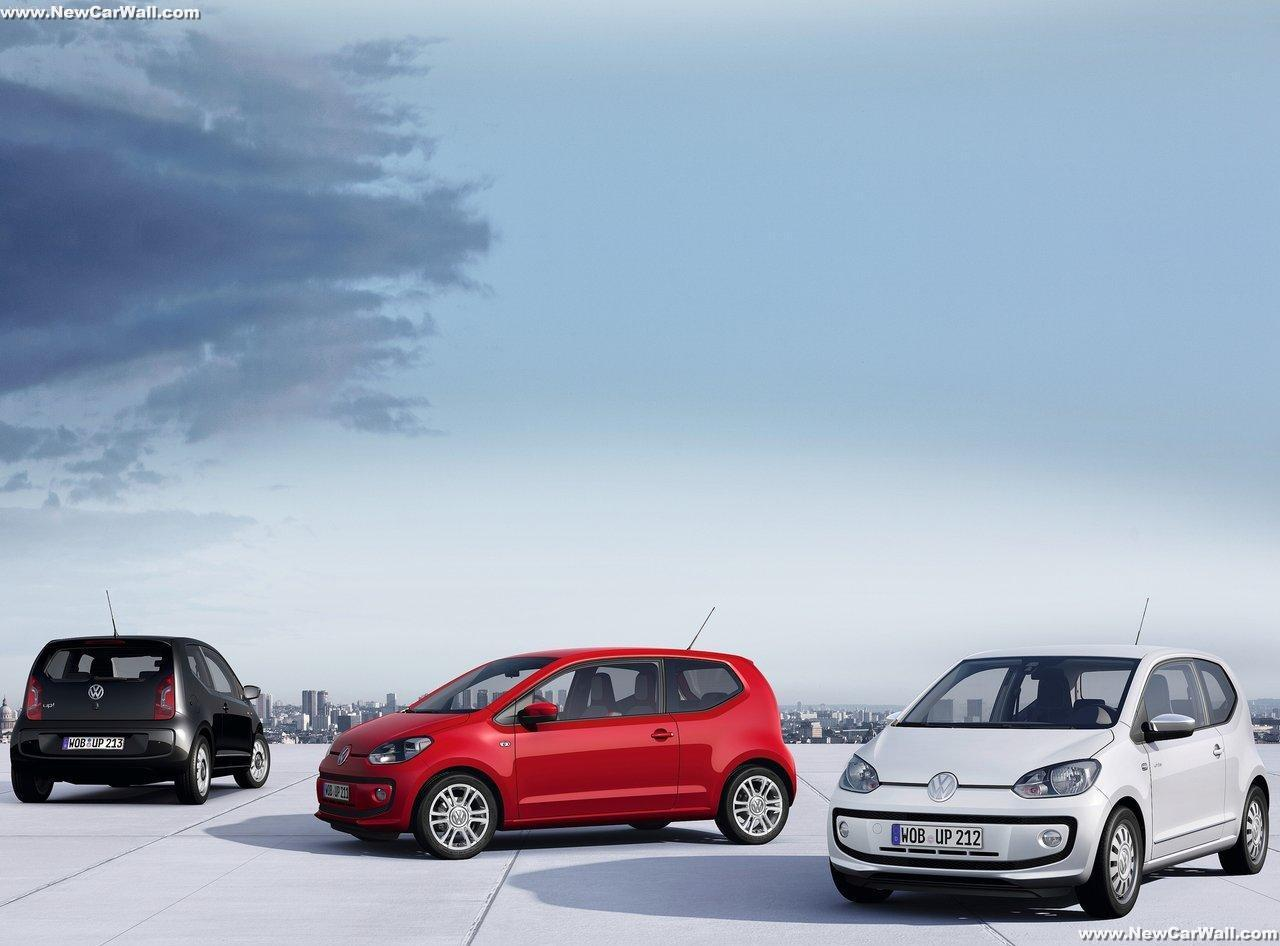 2013 VW Up Wallpaper-Exterior