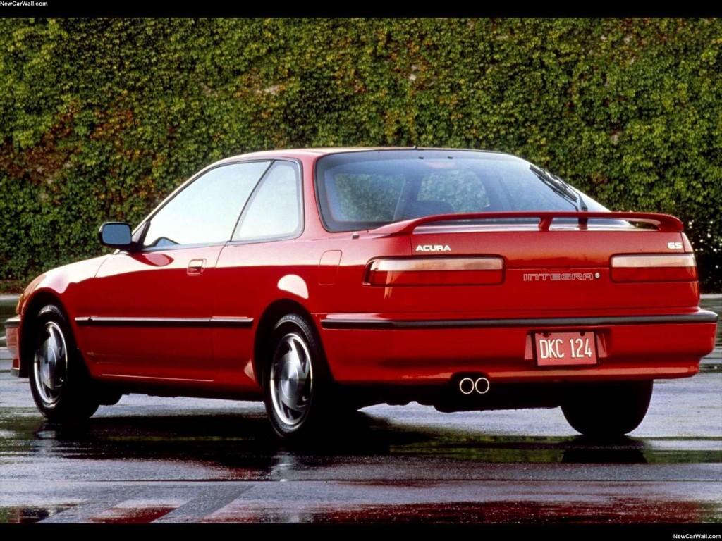 1990 Acura Integra Wallpaper-Rear Angle