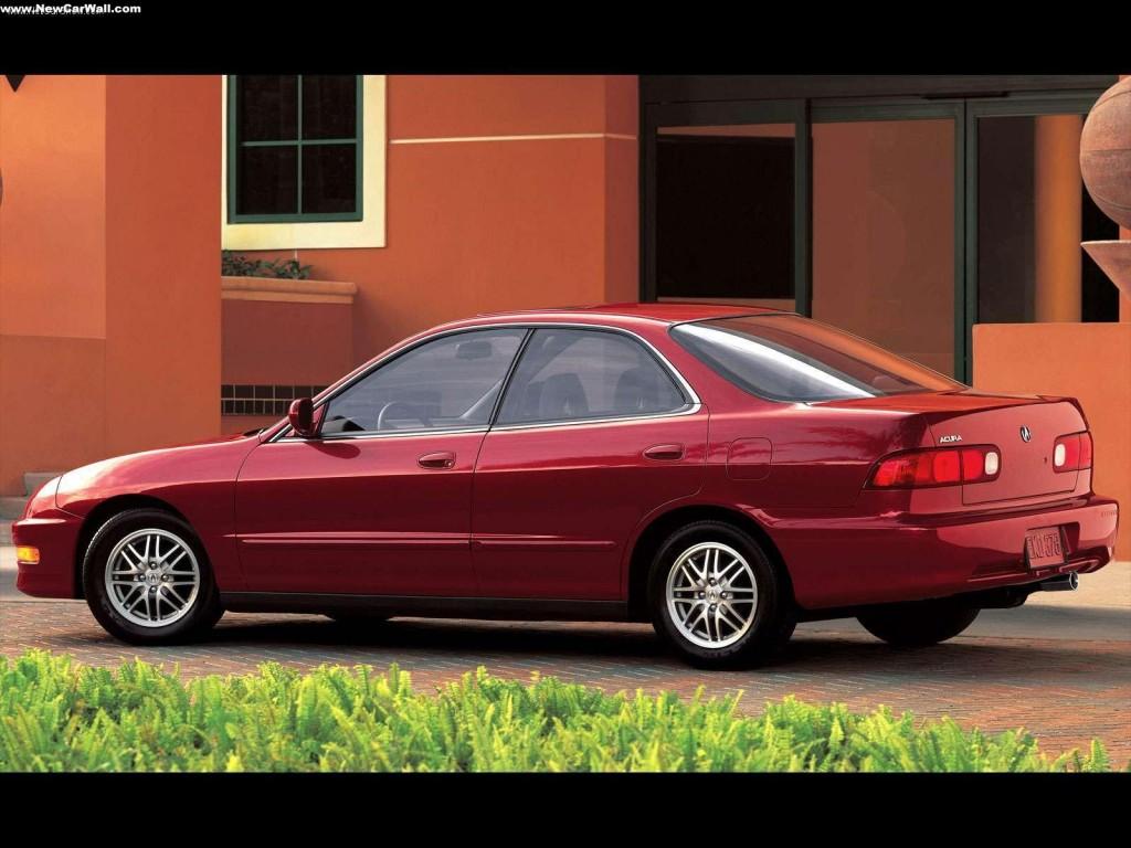 Acura Integra Wallpaper Red