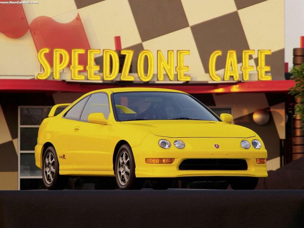 Acura Integra Wallpaper Yellow
