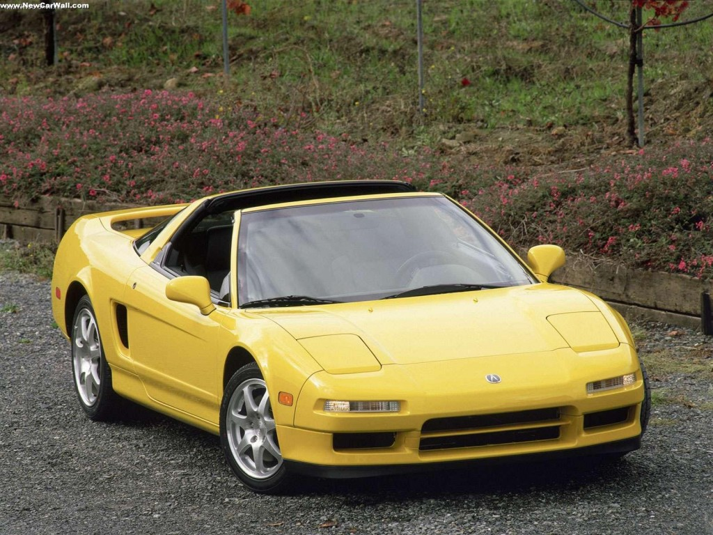 Acura NSX T Wallpaper