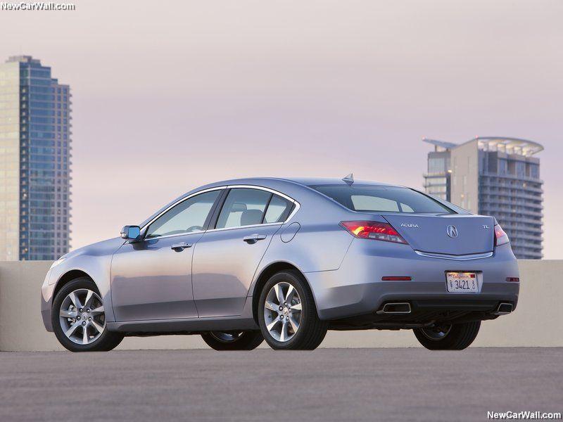 Rear Angle - Acura TL 2012 Wallpaper