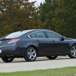 Rear Angle - Acura TL 2012 Wallpaper