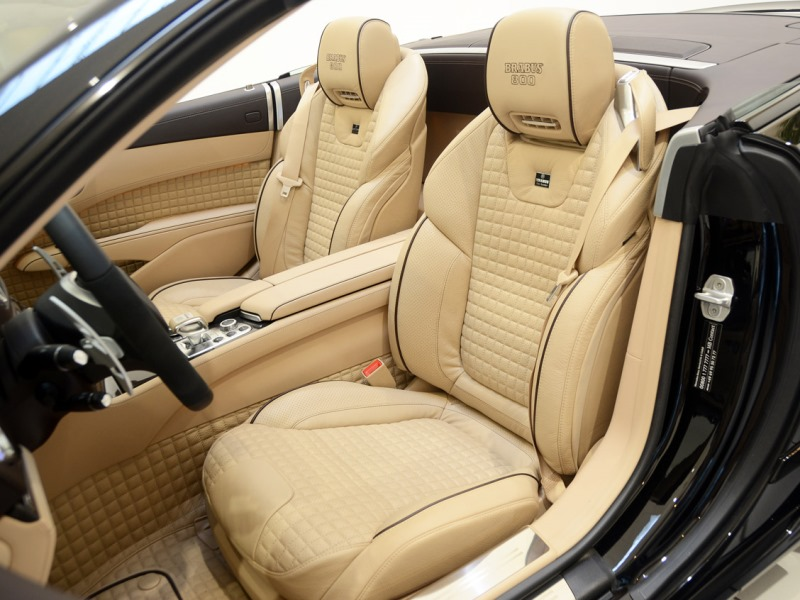 2013 Brabus 800 Roadster-Leater Seat